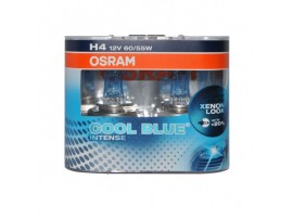 Комплект ламп Osram H4 12V 60/55W COOL BLUE INTENSE (2шт)