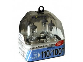Комплект ламп Koito H4 24V 75/70W (110/100w) High Power