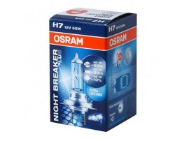 Лампа Osram H7 12V 55W NIGHT BREAKER PLUS+90%