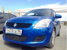 Защита радиатора для Suzuki Swift 2010-2013